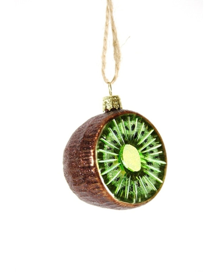 Sliced Kiwi Ornament
