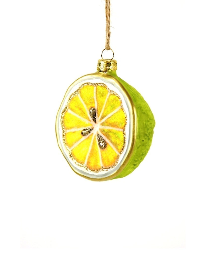 Sliced Lime Ornament