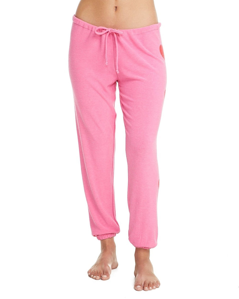 Heart Drawstring Sweatpants