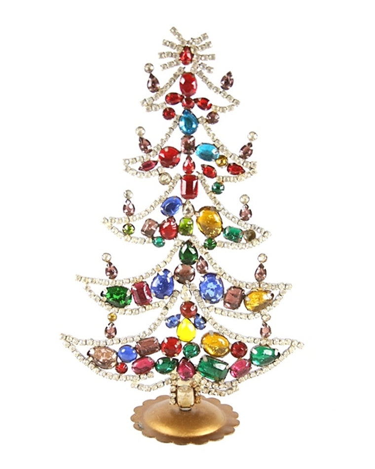Jeweled Tree Decoration