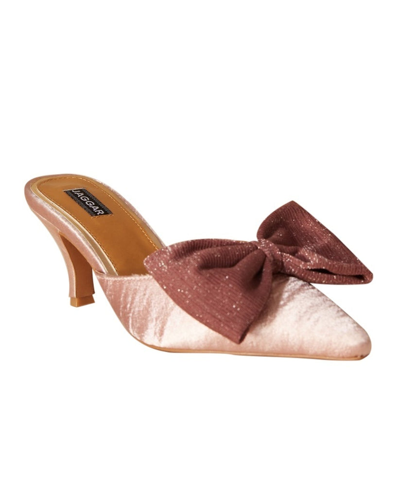 Enhance Bow Mule Pumps