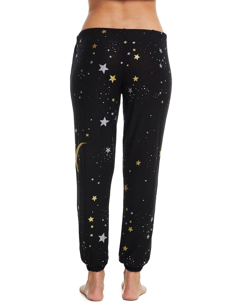 Moon and Stars Jersey Sweatpants