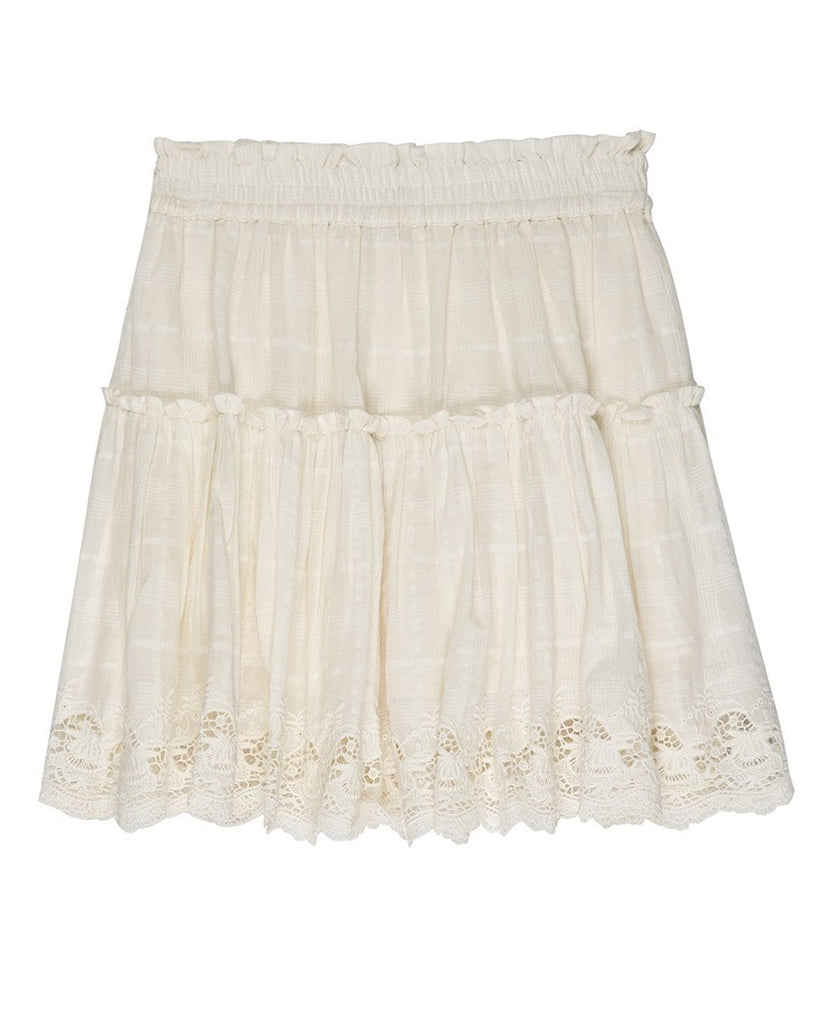 Maryel Lace Mini Skirt