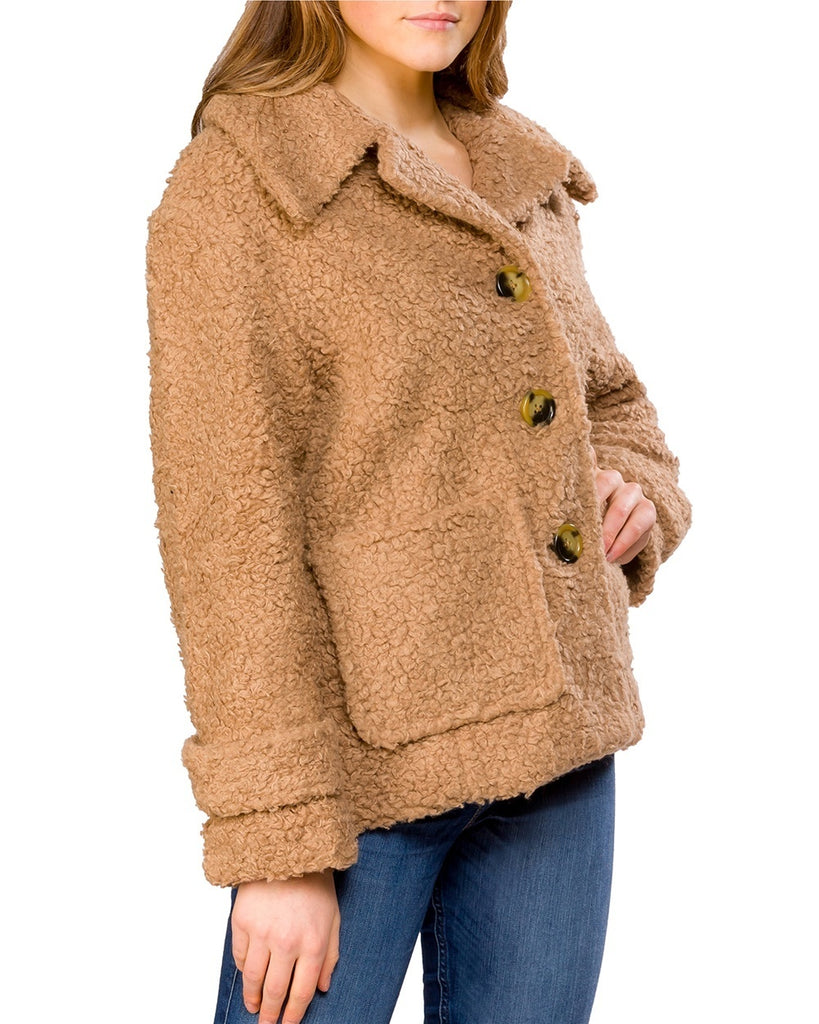 So Soft Fleece Peacoat