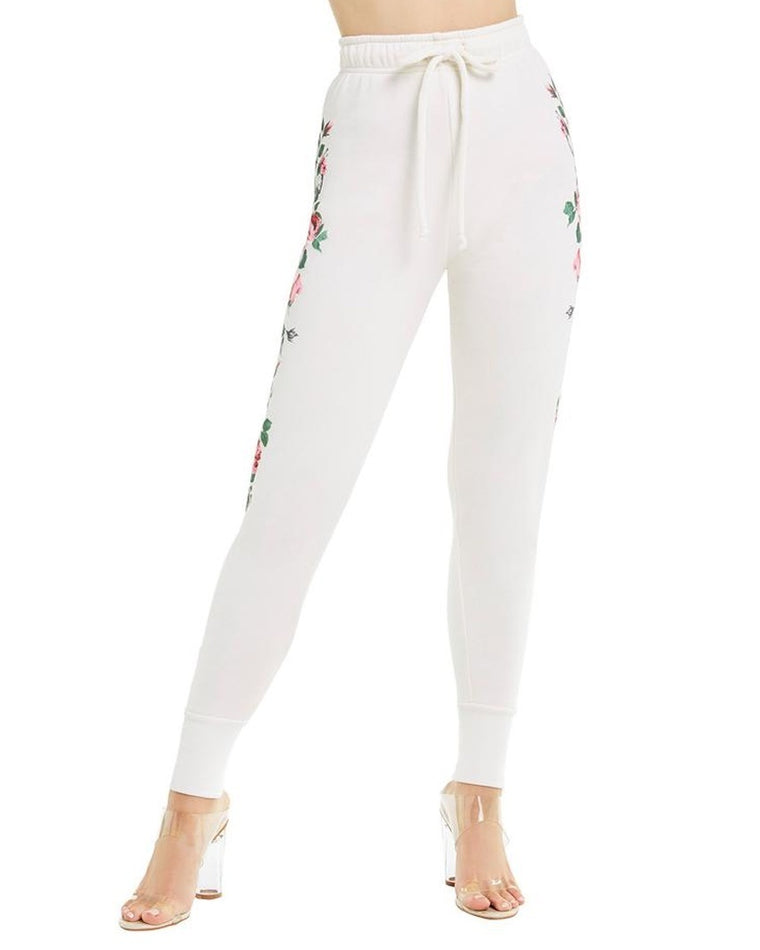 Rosy Steams Zip Cuff Sweatpants