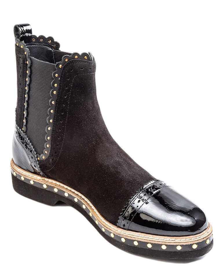 Atlas Studded Chelsea Booties
