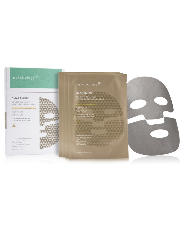 SmartMud Detox No Mess Mud Sheet Mask Set