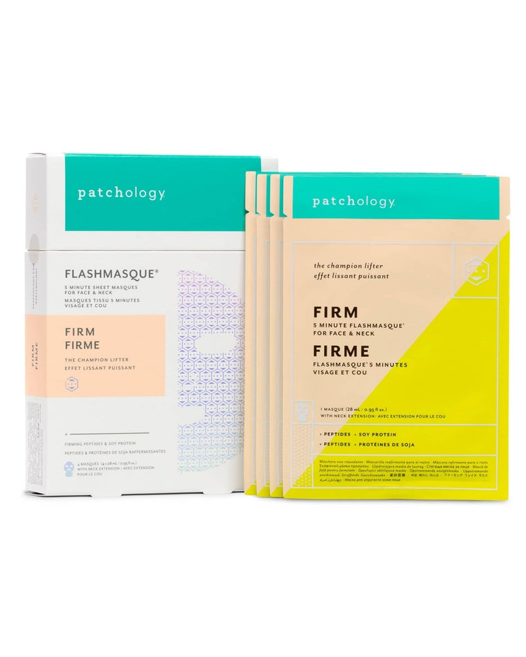 FlashMasque Firm Facial Sheet Mask Set