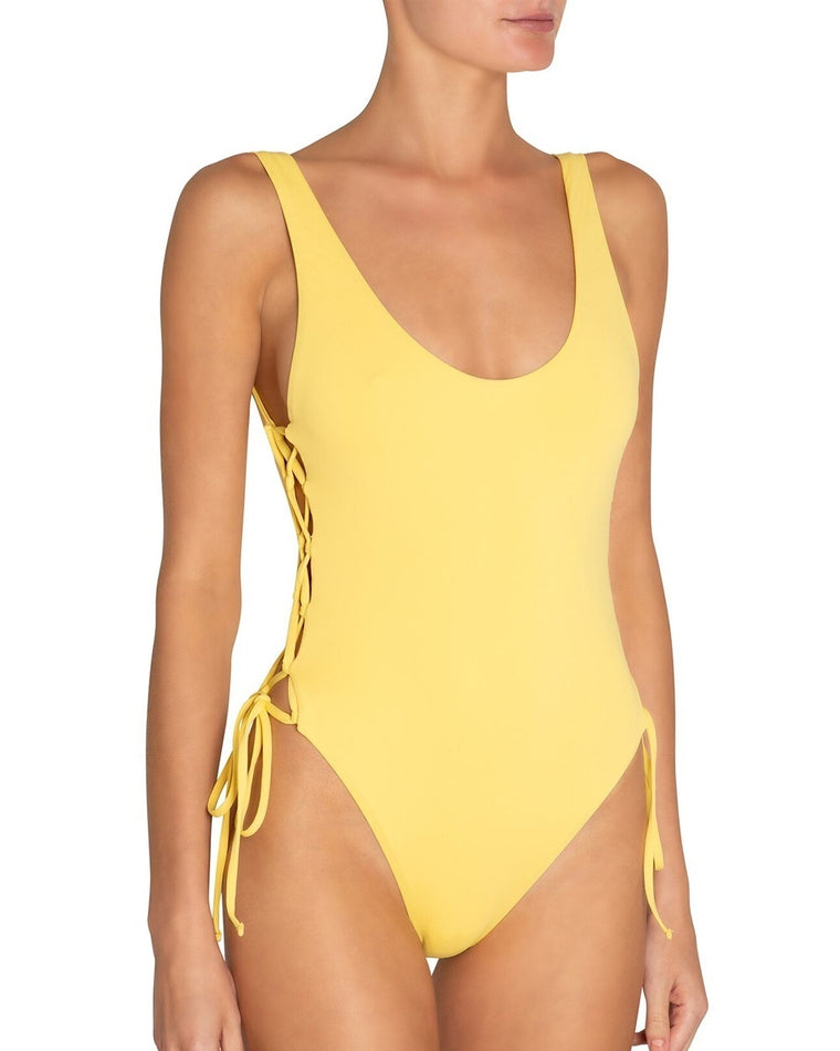 So Solid Mila One Piece Swimsuit