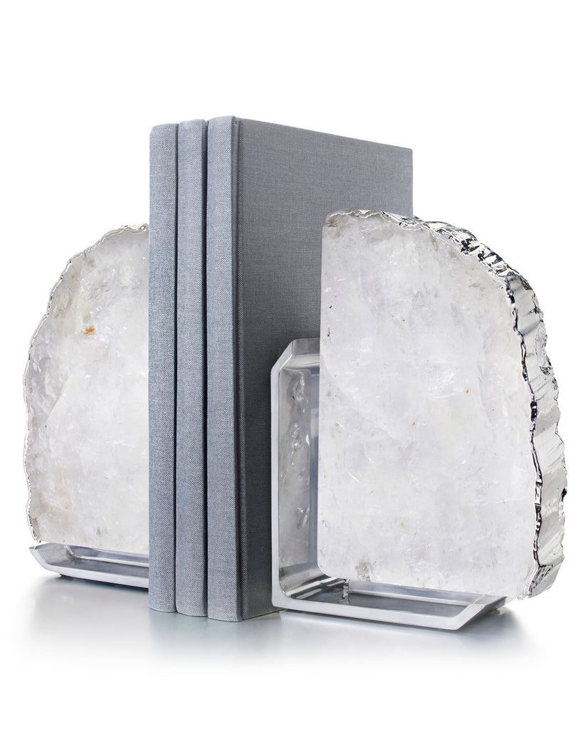 Fim Crystal Bookends