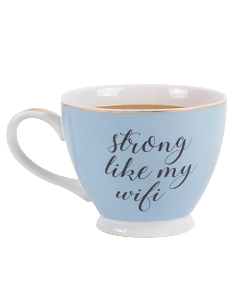 Strong Like My Wifi Mug