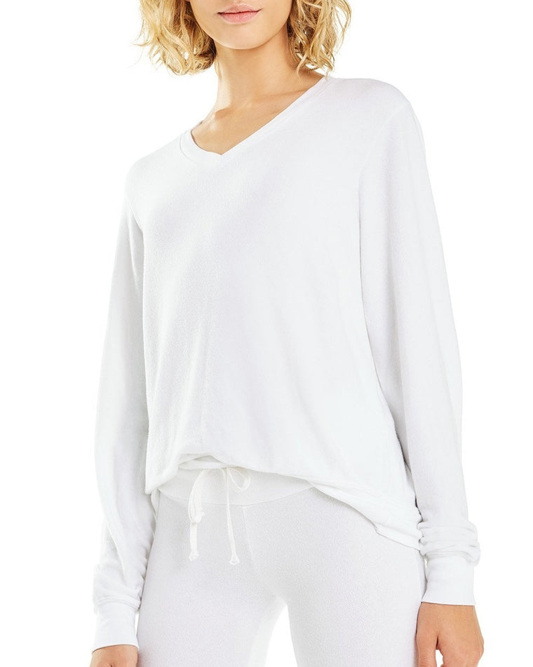 Baggy Beach V-Neck Sweatshirt