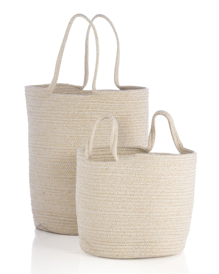 Goldie Woven Basket Set (Set of 2)