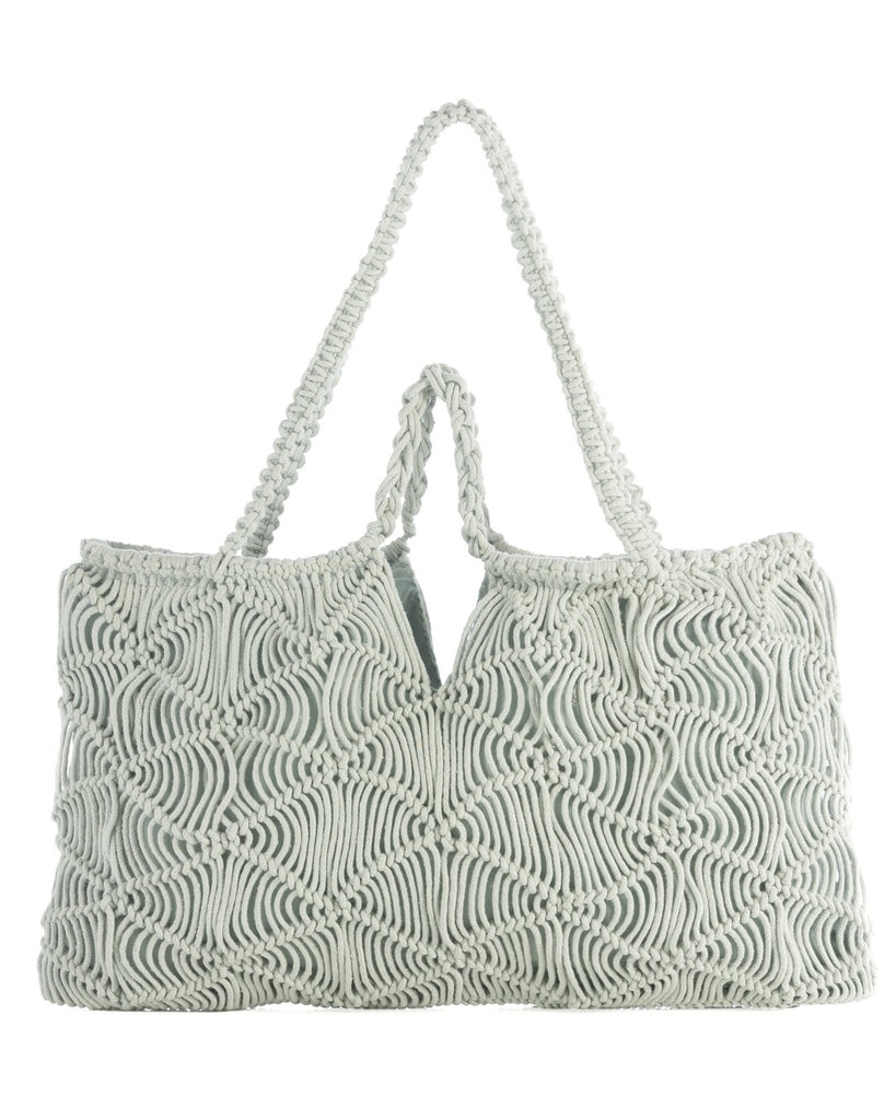Om Woven Double Handle Tote