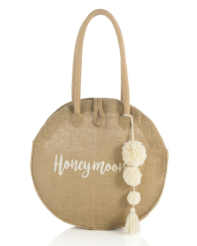 Honeymoonin' Circular Tote