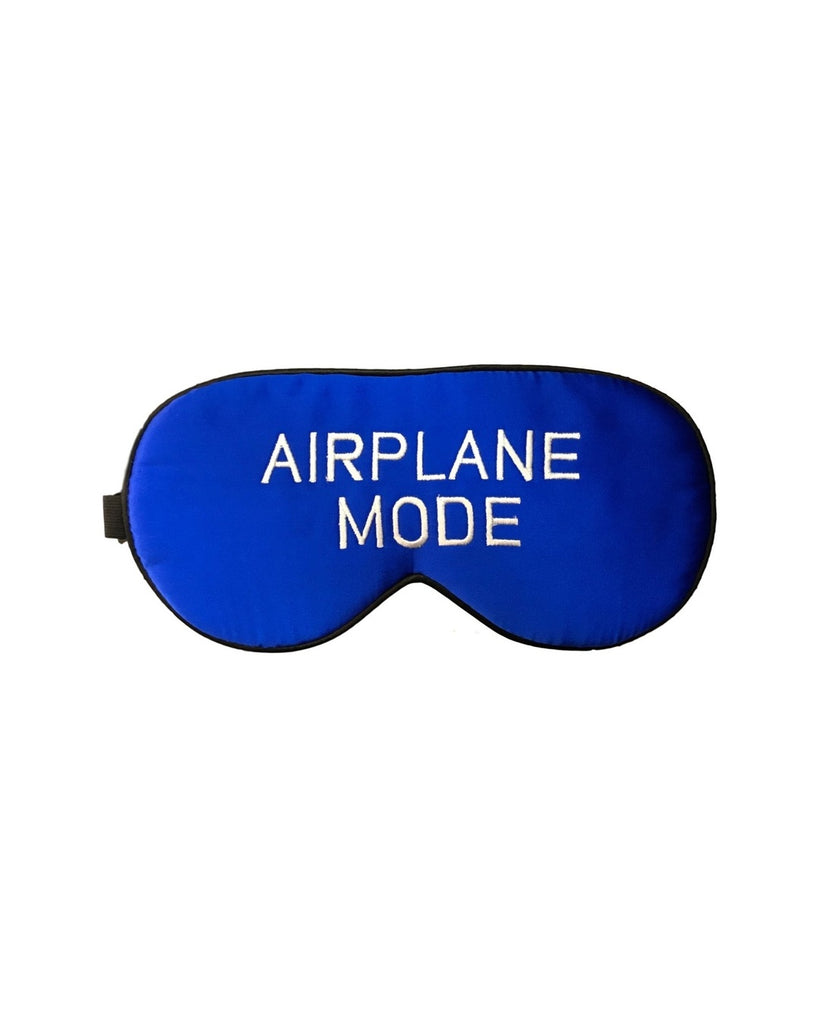Airplane Mode Silk Sleep Mask