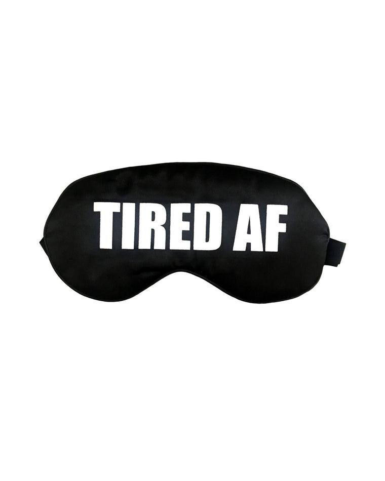 Tired AF Silk Sleep Mask