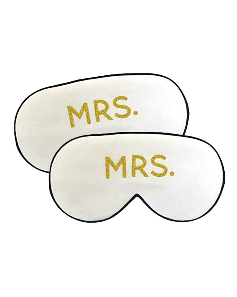 The Honeymoon Mrs. & Mrs. Silk Sleep Mask Set