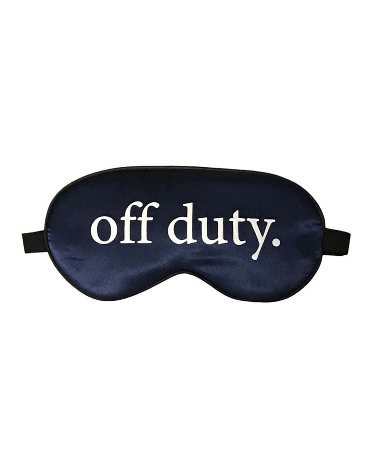 Off Duty Silk Sleep Mask
