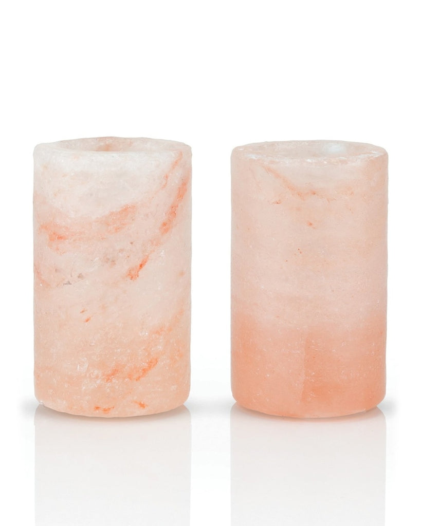 Himalayan Salt Shot Glass Set (Set of 2)