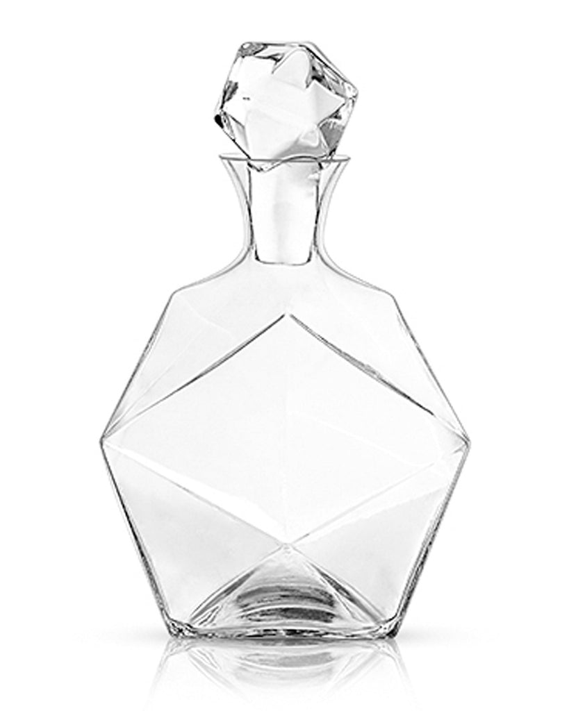 Raye Faceted Crystal Decanter