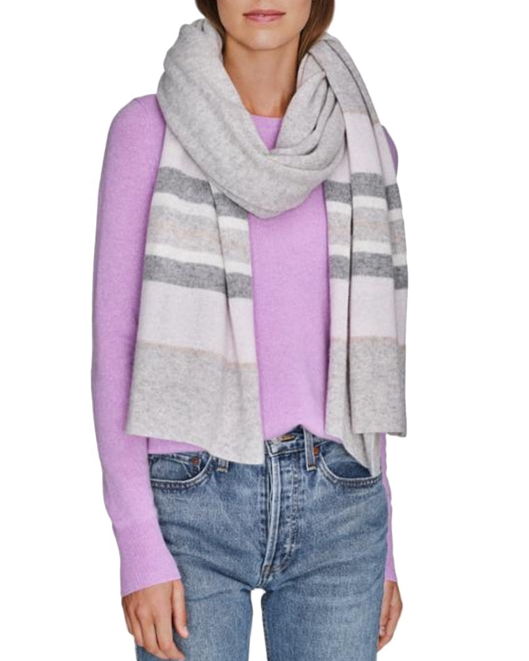 Striped Cashmere Travel Wrap