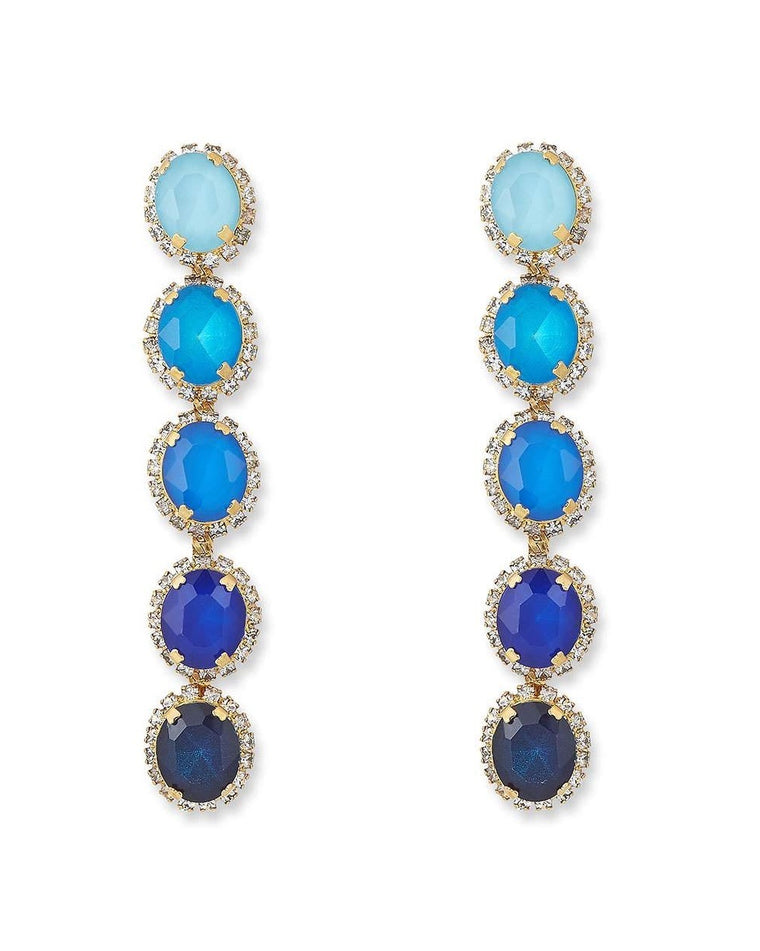 Von Ombré Drop Earrings