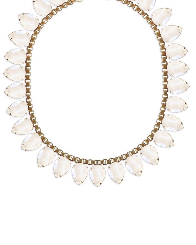Sylvia Crystal Collar Necklace