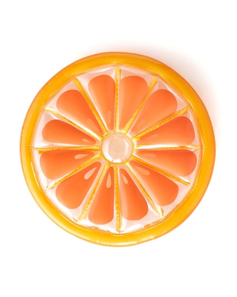 Orange Slice Giant Pool Float