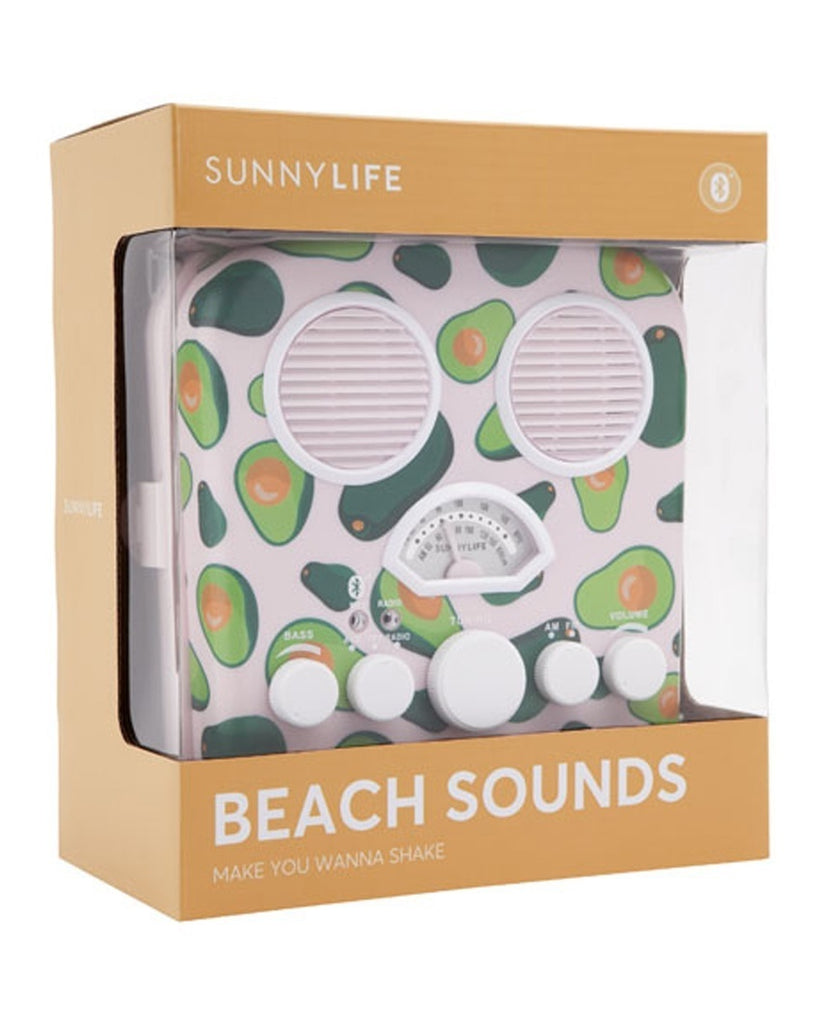 Beach Sounds Avocado Bluetooth Speaker