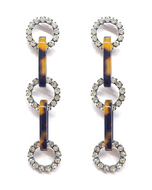 Darcie Oval Link Drop Earrings