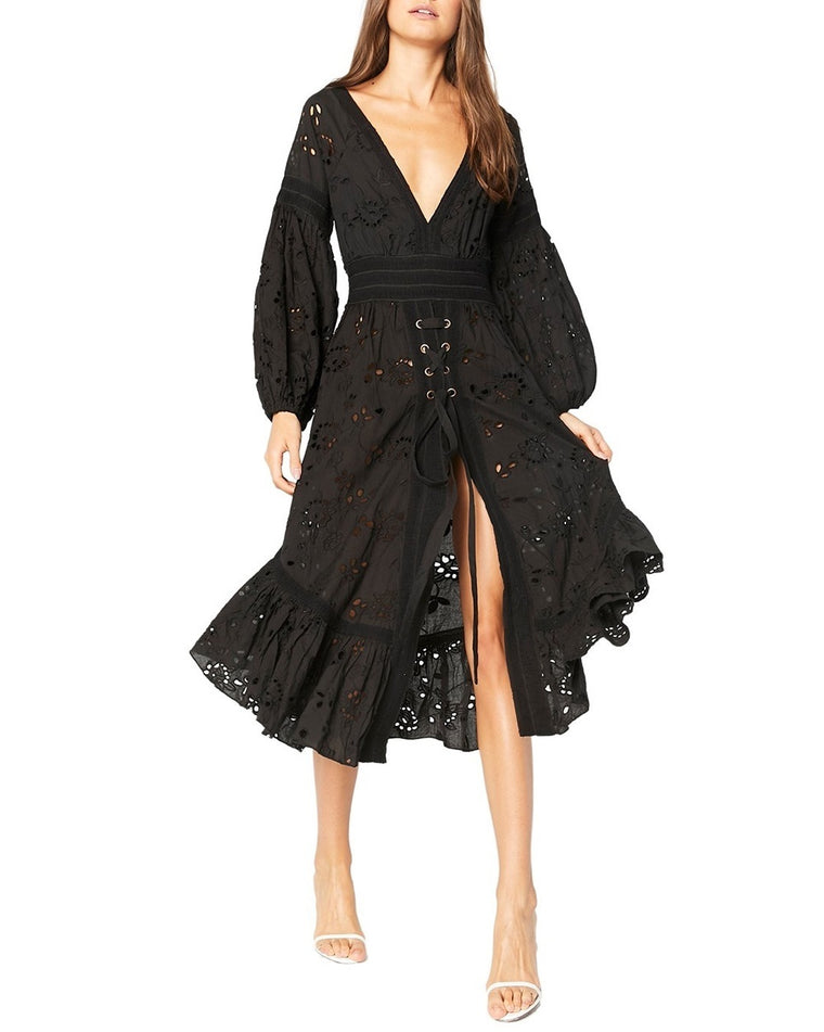 Althea Eyelet Cover-Up Dress