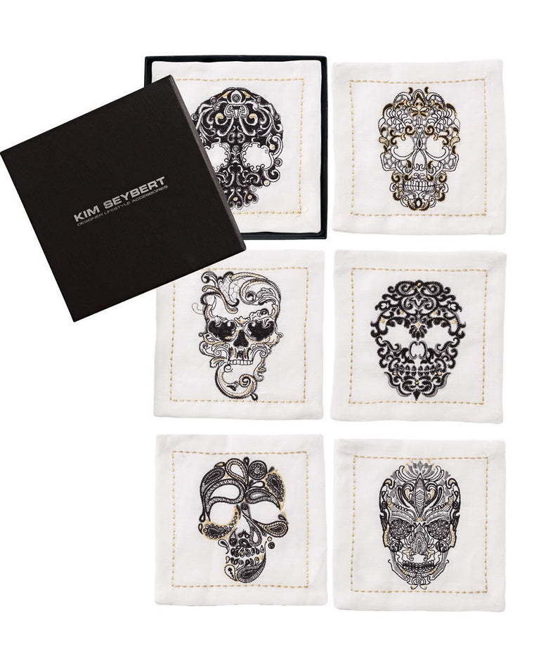 Catrina Cocktail Napkins (Set of 6)
