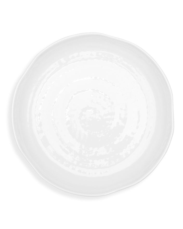 Pearl Melamine Dinner Plate Set (Set of 4)
