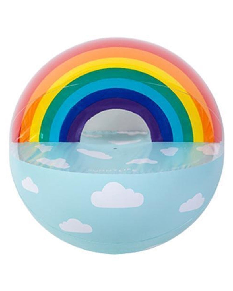 Luxe Inflatable Rainbow Beach Ball
