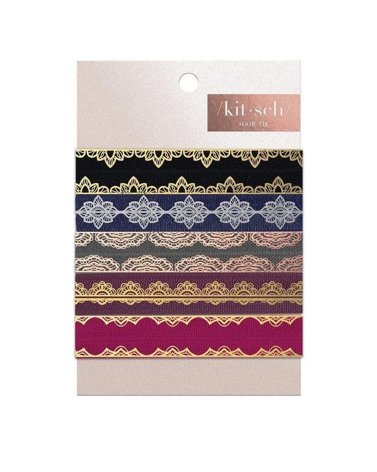 Versailles Hair Ties (Set of 5)