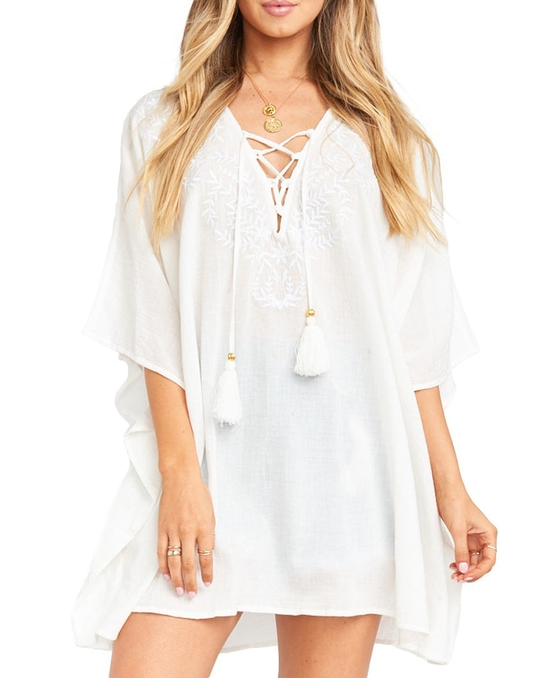Peta Lace-Up Tunic