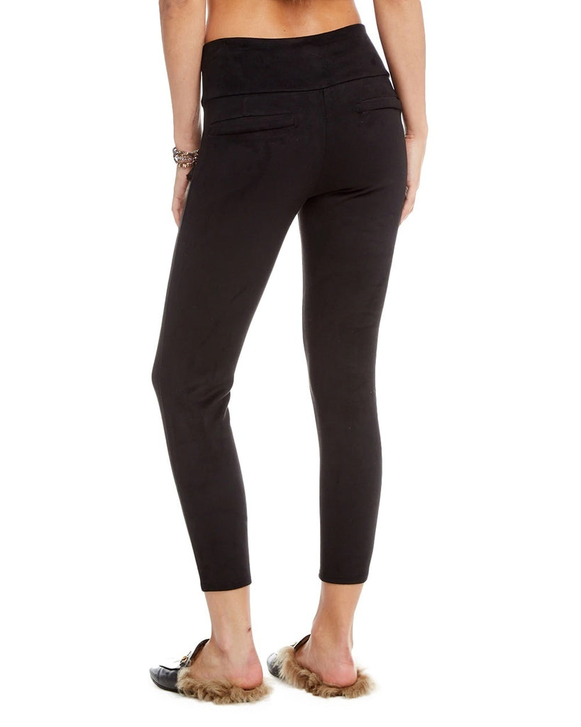 Vegan Suede High Waist Legging