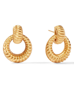 Olympia Doorknocker Earrings