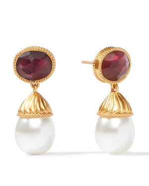 Olympia Pearl Drop Earrings