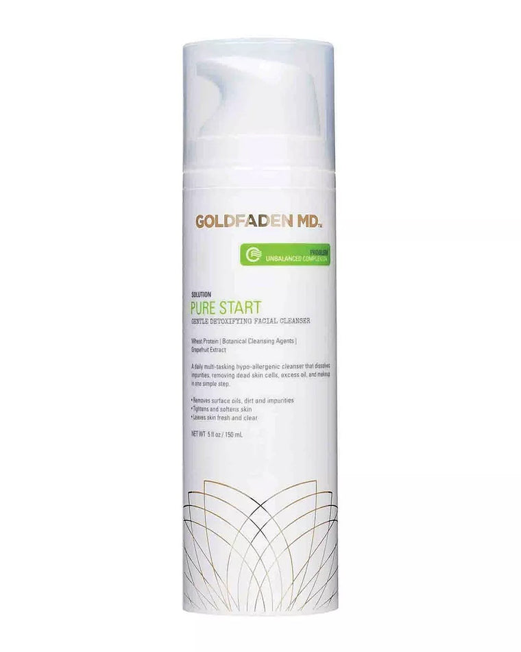 Pure Start Gentle Detoxifying Facial Cleanser