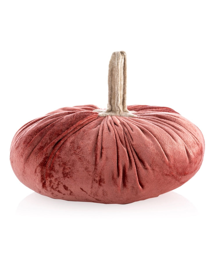 Small Plush Pumpkin Decoration