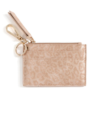 Rowe Leopard Card Case