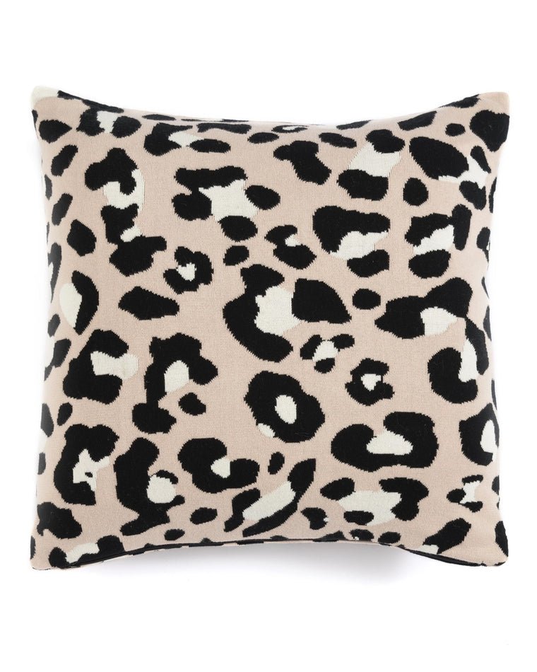 Leo Leopard Accent Pillow