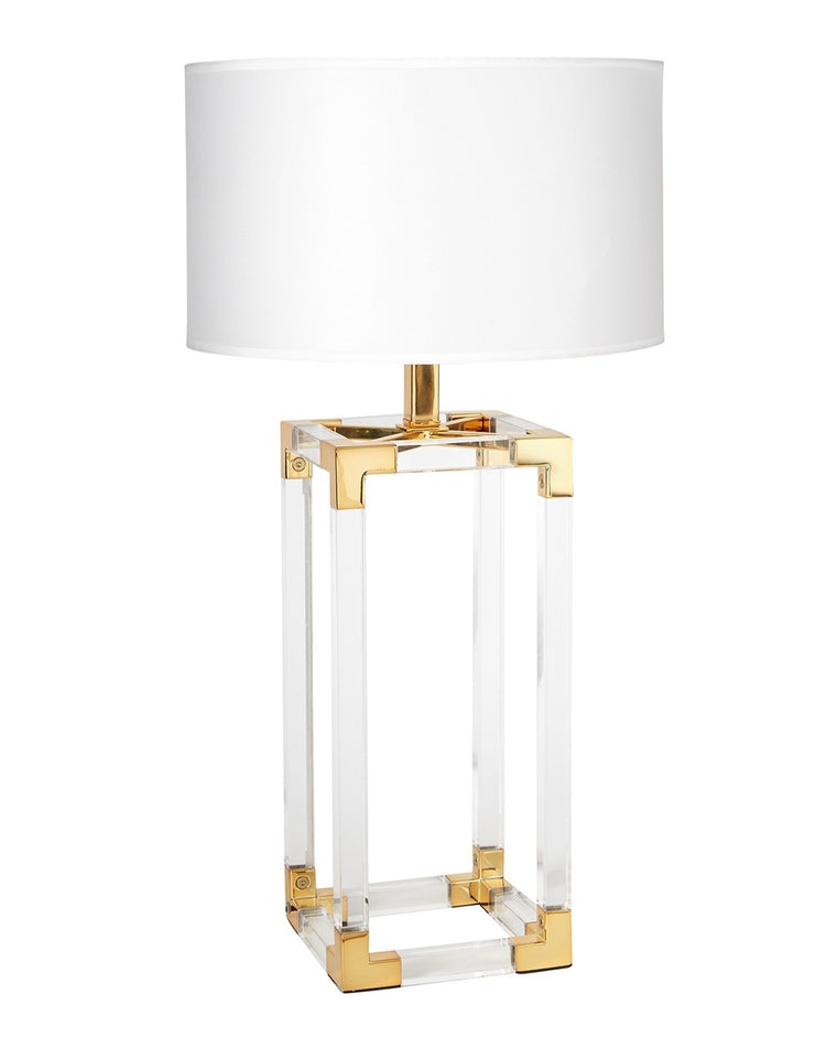 Jacques Column Table Lamp