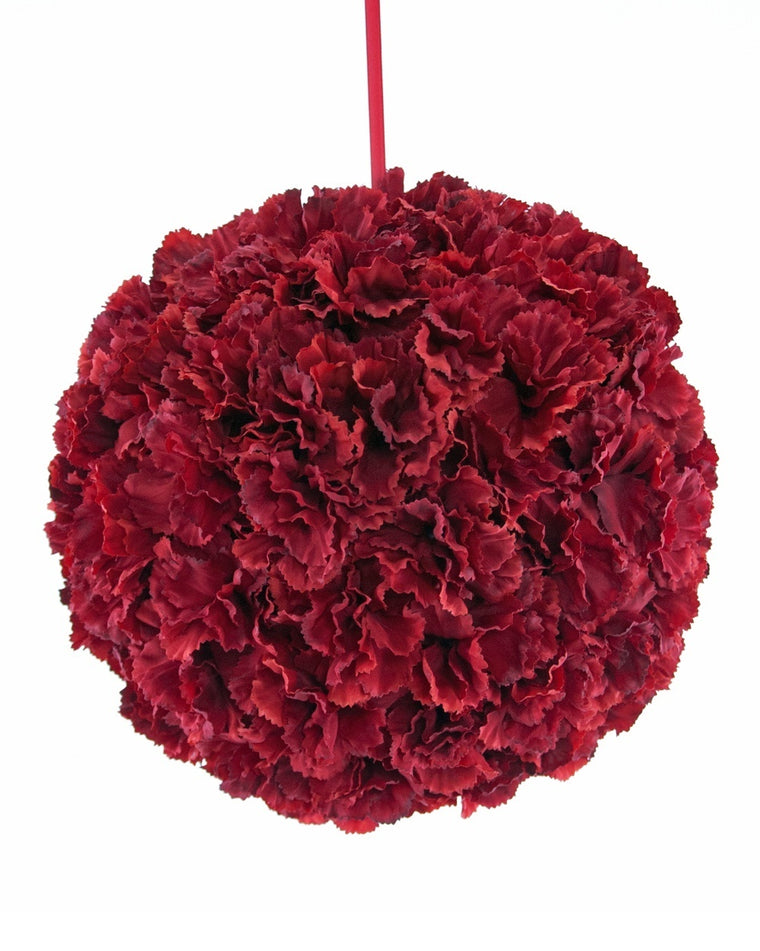 Carnation Large Ball Ornament