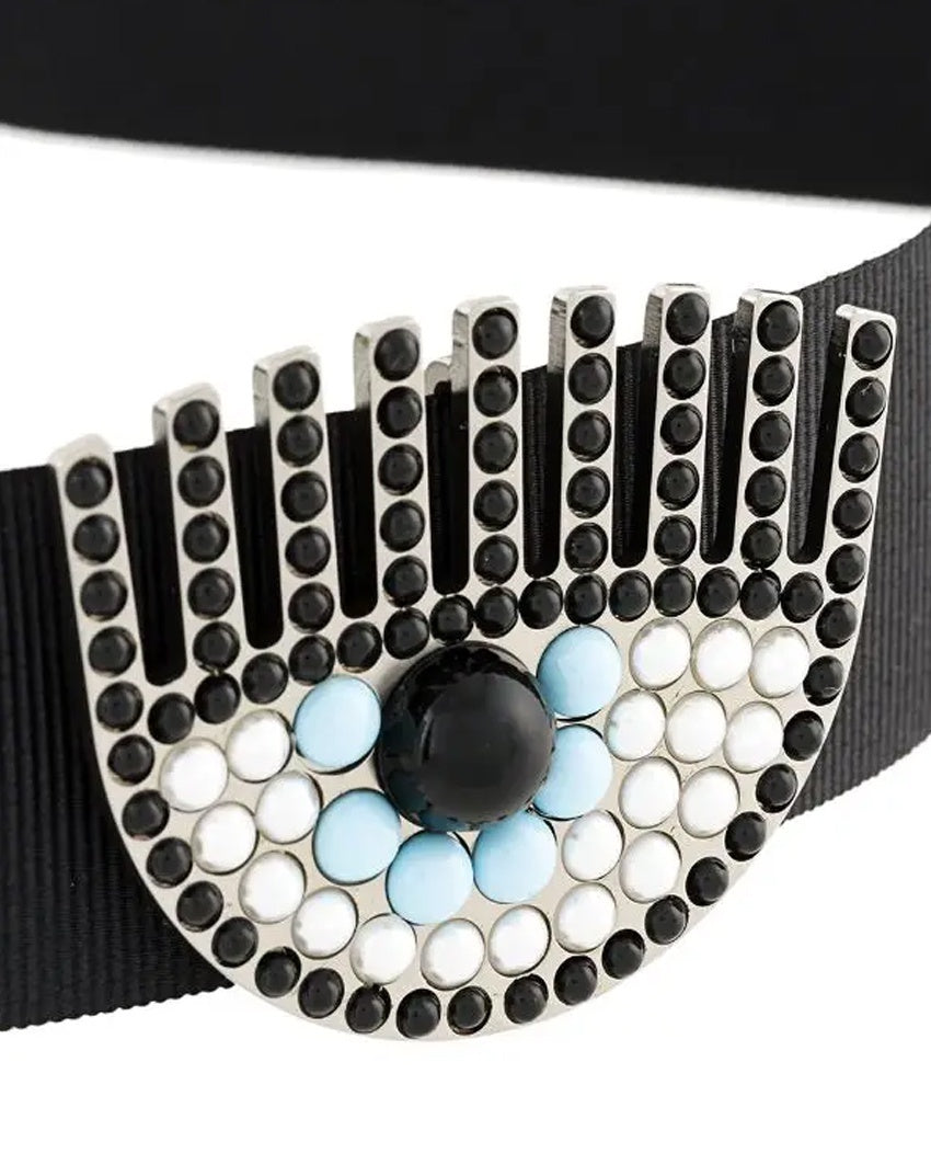 Eye Embellished Choker
