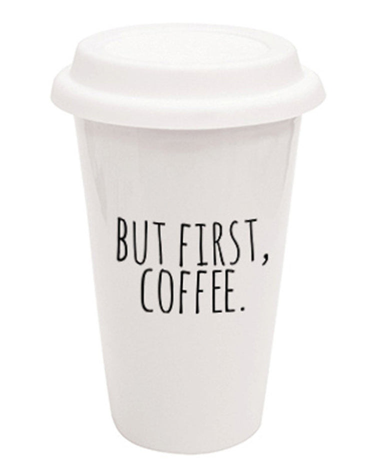 But First, Coffee Traveler Mug