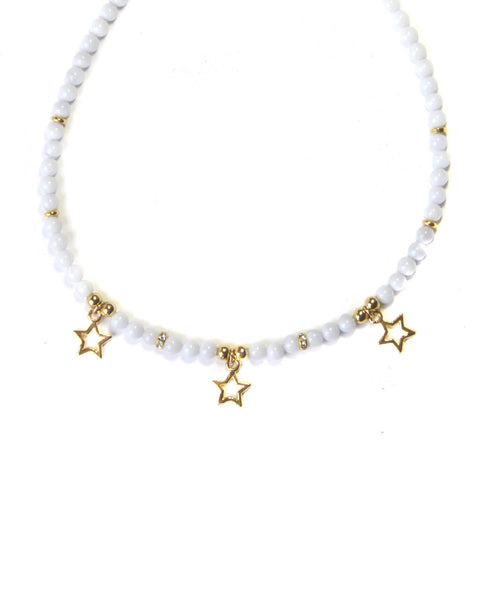 Star Gazing Beaded Choker