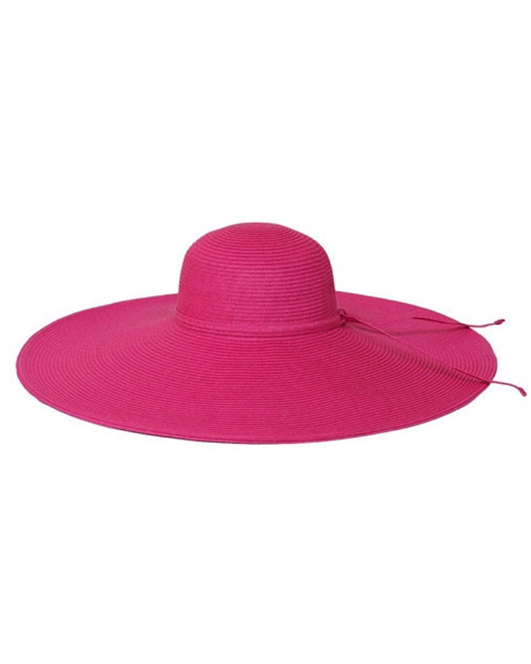 Colorful Floppy Wide Brim Straw Hat
